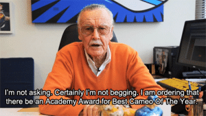 Funny, Academy, and Best: i'm not asking. Certainly im not begging. am ordering that  there be an Academy Award for Best cameo Of The Year You won it in our hearts, sir. Rest in peace via /r/funny https://ift.tt/2PRSkSt