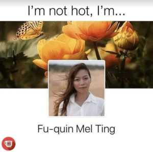 Summer, Time, and Poetry: I'm not hot, I'm...  Fu-quin Mel Ting Summer time poetry