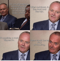 creed 😂 https://t.co/Cmg8Gmr5Ic: I'm not offended by  Homosexuality.  In the 6Os made  Love to man  Many woman  Often outdoors. In  the mud and  the rain.  t's possible a man  Slipped in.  There would be no  Way  of knowing. creed 😂 https://t.co/Cmg8Gmr5Ic