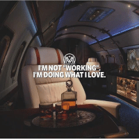 """Life, Love, and Memes: I'M NOT WORKING  I'M DOING WHAT ILOVE. Do what you love and you will never have to """"work"""" a day in your life! 💯 - work love lifestyle millionairementor"""