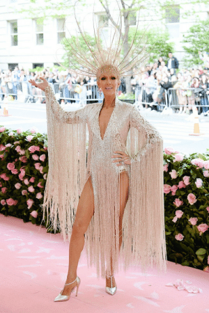 Pikachu, Tumblr, and Blog: im-pikachu:  The 2019 Met Gala ||   Celine Dion