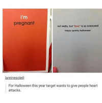 """Whatever happened to Alex from target: i'm  pregnant  not really, but """"boo"""" is so overused  happy spooky halloween  lareinesoleil  For Halloween this year target wants to give people heart  attacks Whatever happened to Alex from target"""