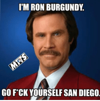 Walking Trout to face Pujols? I guess that didn't work. Good game Padres but someone has a special message for you. Haha!!!  #AngelsLV: I'M RON BURGUNDY  GO FCK YOURSELF SAN DIEGO Walking Trout to face Pujols? I guess that didn't work. Good game Padres but someone has a special message for you. Haha!!!  #AngelsLV