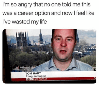 Funny, Life, and Breakfast: I'm so angry that no one told me this  was a career option and now I feel like  I've wasted my life  TOM HART  Penguinologist  BBC BREAKFAST Tom Hart, have my babies.