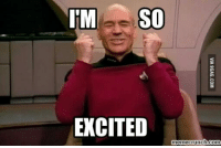 so excited: IM SO  EXCITED  memecrunch.com