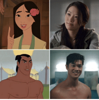 I'm so excited there making Mulan into a live action movie and I think Arden Cho should play Mulan and Ross Butler should play Li Shang Mulan ArdenCho RossButler: I'm so excited there making Mulan into a live action movie and I think Arden Cho should play Mulan and Ross Butler should play Li Shang Mulan ArdenCho RossButler