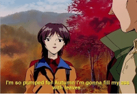 Anime, Ass, and Tumblr: I'm so pumped for Autumn I'm gonna fill my ass  ith leaves animeirl:anime_irl meirl