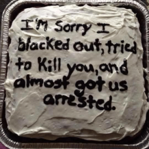 Funny, Memes, and Sorry: IM Sorry  blacked out, trie  to Kill you,and  almost got us  arrested Thanks for checking out Unlawfulthreads.com We make funny shirts, mugs, and stickers just for you.
