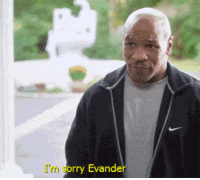 Sorry, Tyson, and Im Sorry: I'm sorry Evander Tyson apologizes to Holyfield