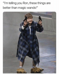 "Memes, Magic, and 🤖: ""I'm telling you Ron, these things are  better than magic wands!"" 😂😂😂"