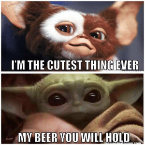 Beer: I'M THE CUTEST THING EVER  MY BEER YOU WILL HOLD  Cdubs711  momecretoronn.com