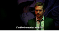 Luke Cage, Iron, and Fis: I'm the Immortal Iron Fis <p>Luke Cage is all of us</p>