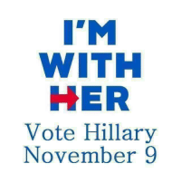 """Be sure to share this message with all your friends who are planning to vote.  And whether you're voting for Clinton or Trump, the most important thing is to get out and VOTE on NOVEMBER 9TH! Don't forget!: I""""M  WITH  HER  Vote Hillary  November 9 Be sure to share this message with all your friends who are planning to vote.  And whether you're voting for Clinton or Trump, the most important thing is to get out and VOTE on NOVEMBER 9TH! Don't forget!"""