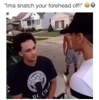"""Memes, 🤖, and Who: """"Ima snatch your forehead off! Who remembers this ??"""