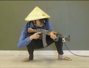 Taken, Image, and Vietnamese: Image of a Vietcong Recon Soldier (Taken by a south vietnamese spy, ca 1970)