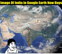 Google, North Korea, and China: Image of India In Google Earth Now Days  La via  Belg  Poland  Slovakia  Ukraine  Romania  Kazakhstan  Mongolia  ulgaria  North Korea Japa  Georgia  South Korea  Turkey  Azerbaijan  Uzbekistan  Kyrgy  Turkmenistan  Tajikista  China  Afghanistan  Taiwan  Pakistan  O State Bank of India,  Bhutan  Saudi Arab  United ArOb  Banglades  Luzon  Myanmar  ndia  (Burma  Laos  south Philip  Yemen  hailand  Vietnam  ambodia  Basi  opia  Bay of Bengal  Malaysia  Val  Somalia  Sri Lanka  Indone  Singapore  Gajadhar Hahah! :p