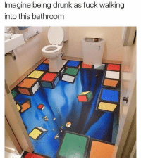 Drunk, Funny, and Shit: Imagine being drunk as fuck walking  into this bathroonm I would lose my shit, literally. https://t.co/htJZ5V0VVz