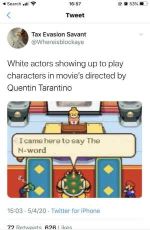 Imagine being on set and having a white actor just shout the N word to you a million times during rehearsal. (via /r/BlackPeopleTwitter): Imagine being on set and having a white actor just shout the N word to you a million times during rehearsal. (via /r/BlackPeopleTwitter)