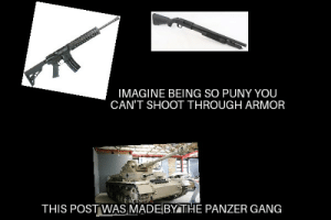Panzers are king: IMAGINE BEING SO PUNY YOU  CAN'T SHOOT THROUGH ARMOR  THIS POST WAS MADE BY THE PANZER GANG Panzers are king