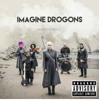"9gag, Dank, and Fire: IMAGINE DROGONS  eWIGHTSKING  Peed  D R A G O N S  ADVISORY  EXPLICIT CONTENT 2nd track ""Ready Aim Dracarys"" is fire. GOT memes ➡️ 9gag.com/got?ref=fbpic"