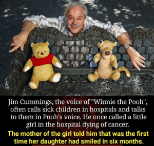 Imagine getting a call from Pooh bear.: Imagine getting a call from Pooh bear.