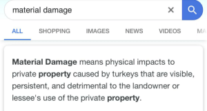 Imagine having to file a claim for Material Damage 😂: Imagine having to file a claim for Material Damage 😂