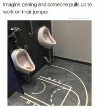 Memes, Wshh, and Work: Imagine peeing and someone pulls up to  work on their jumper  @highfiveexpert This is awesome 😂 @highfiveexpert WSHH