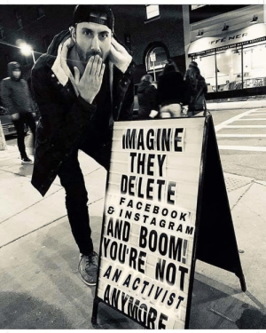 Imagine they delete Facebook and Instagram..: Imagine they delete Facebook and Instagram..