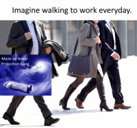 A bird is fine, too. https://t.co/Ug5hxRLgPC: Imagine walking to work everyday.  Made by Astral  Projection Gang A bird is fine, too. https://t.co/Ug5hxRLgPC