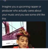 Cats, Dank, and Funny: Imagine you a upcoming rapper or  producer who actually cares about  your music and you see some shit like  this Make some fun music CRAIG! All music ain't gotta be about your life CRAIG! @larnite • ➫➫➫ Follow @Staggering for more funny posts daily! • (Ignore: memes dank funny cats insta love me goals happy ligmaballs)