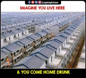 Drunk, Home, and Live: IMAGINE YOU LIVE HERE  & YOU COME HOME DRUNK