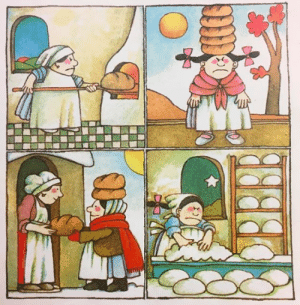 imalsolearningitalian: From Strega Nonna's Magic Lessons, Tomie dePaola, 1982.    Y'all making bread right now : imalsolearningitalian: From Strega Nonna's Magic Lessons, Tomie dePaola, 1982.    Y'all making bread right now