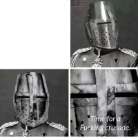 Fucking, Time, and Stupidity: ime for a  Fucking crusade