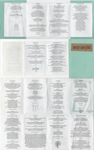 "popcandy:  from Reddit: a lyric book for self-titled originally sold at concerts back in 2010 : imiplicit Demand For Proof  Fall Away  The Pantaloon  Addict With A Pen  1)  I know you're not a liar  I don't want to fall, fall away.  I don't want to fal, fall away  I will keep the lights on in this place  Cause I dont want to fall, fall away  Hello, We haven't talked in quite some time  I know, I haven't been the best, of sons.  Hello, Ive been traveling in the desert of my mind,  And I haven't found a drop of life.  I haven't found a drop of you  I haven't found & drop.  t haven't found a drop of water  Water  Your grandpa died, when you were nine,  And I know you oould set fire this day  Go ahead and make me look away.  say he had lost his mind.  Yonu  learned, way too soon,  Strike me down, I am calling your lightning  You should never trust the Pantaloon.  Down from your  Go abead and show me your  Now, It's your turn, to to be alone,  Plnd a wife and build yourself& home  You have learned, way too soon,  That your dad is now the Pantaloon.  ahorus)  I disguise and I will lie,  And I will take my precious time,  Rain down, and destroy me.  (verse 2)  I am simply very perplexed by your ways.  As the days melt  as I stand in line  I try desperately to run through the sand as I  Hold the water in the palm of my hand  Cause its all that I have and its all that I need and the,  The waves of the water mean nothing to me  But I try my best in all that I can to,  Hold tightly on to what's left in my hand  But no matter how, how tightly I will strain  The sand will slow me down and the water will drain.  I'm just betng dramatic, in fact  And I die as I wait as I walt on my orime,  And Ill try to delay what you make of my life,  But I don't want your way, I want mine,  You are tired, you are hurt.  A moth ate through your favorite shirt.  Why wouid you let us use your name?  and I'm trying but betieve me I'm fine,  t I'm lying, I'm so very far from fine  And all your friends fertilize,  The ground you walk  (chorus)  Loope your mind  L, I can feel the pull begin,  Peel my conscience wearing thin  And my skin, will start.  He's peen too many stare doWns  Between the aun and the moon in the morning atr, how  He used to huntle all the people walking through the fairgrounds,  He's been around so long, he's changed his meaning of a chair  now  Beoause a chair now  Is like a uny island in the ses of all the people,  Who glide acroes the very aurface thbat made his bones feeble.  The end oan't come soon enough but is it too soon?  Either way he oan't deny, he is the Pantaloon.  at it aguin,  To  up and fall apart.  Wha's addicted to the  As it blows me back and  (ahorus)  Bind leas, spineless, and pretend  Of course I'll be here again.  8ee you tomorrow but its tbe end,  Of today, end of my ways,  As a walking denial, my trial waa filed,  As a crazy suicidal head oase  Every time I feel selfish ambition is taking my vision,  My crime la my sentenoe, repentance is taking commiasion,  It's taking a toll on my soul, I'm screaming submiosion,  And,  I don't know if I am dying or living  Cause I will save face for name's sake, abuse grace,  Take aim to obtain a new name and a new plaoe,  But my name is larme, I cant walk and I ain't the same,  And my name beoarme & new destiny to the grave  But you specialize in  You hear me screaming  And I'm lying here just crying,  So wash me with your water  (verne  3)  You like to aleep alone, it's oolder than you know  Cause your akin is so, used to colder bones  It'a warmer in the morning, than whas it is at night  Your bones are held together by your nightmares and your  (chorus) (x2)  (chorua)   Friend, Please  March To The Sea  (verse 1)  I feel for you but when did you believe you were alone.  There's miles of land in front of us  And we're dying with every step we talke,  breath we make, And I'I fall in line.  You say that spiders cziwled inesde and made themselves a home.  Wer dyingwith evearyrs  A stranger's back is all i see,  And I'll look left and right sometimes, But I'll fall in line.  And no one looks up anymore,  Where light once was  He's only a few feet in front of  Potrifted of who you are and who you have become.  You will hide from everyone, denying you need someone,  To exterminate your bones  (chorus)  Priend, please remove your hands from  Over your eyes for me  I know you want to leave but  Priend, please don't take your life away from me.  Cause you might got, a raindrop in your eye,  And heaven forbid they see you ory, As we fall in line.  And about this time of every year,  The line will go to the ocean pier  And walk right off into the sea,  And then we fall asleep.  (verse 2)  Laving like a ghost you walle by everyone you know  You say that you're fine but you have lost your sway and glow  8o I stopped by to let you know  And as we near the end of land  And our ooean graves are just  the Band  I ask mysolf the question why, I fall in line  And then out of the corner of my eye  I aee a spaceship in the slky,  (chorus)  And hear a voice inside my head, ""Pollow me instead""  (bridge)  And then the wages of war will start,  Inside my head with my counterpart,  And the emotionless marchers will ohant the phrase,  Would you let me  know your plans tonight  Cause I just won't let go tal we both pee the light.  And I have nothing else left to Bay  But I will listen to you all day, yes I will.  This line's the only wa  And then I start down the sand,  My eyes are focused on the end of land,  But again the voice inside my head, Says ""follow me instead""  (ahorus)  Take me up, Beal the door  Idon't want to march here anymore  I realize that this line is dead  So I'll follow you instead.  8o then you put me back in my place  So I might start another  And once again I will be, In a march to the sea.   0  He stays home from work this time. He never really  I don' fall slow like I used to, I fall straight down,  But the muffs on your ears will cater your fears  You're  But now he's just watching the back ofhis eyes.  And I just don't say what you want to hear  But they lie when they blame it on the times.  And I don't believe in talking just to breathe,  Open the slits in your face and start your day  You don't have much time to make your slits look alright  I want to fall inside your ghoet, And flll up every hole inside my  Sometime we will die and sonetimes we will ly away  Either way you're by my side until my dying days,  I want to crack the door so I can just fall out.  You reached in the back and buckled up your heart  And if I'm not there and I'm far away I said,  Look in the mirror and ask your soul if you're alright.  Don't be afraid, I eaid don't be afraid, We're going home  It was a little dark so he held a makeshit toroh  I want to strip myself of breath, A breathless plece of death I've  He crept in her room and stayed there for the night  We pick songs to sing, remind us of things that no body oares  And honestly we're probably more suiaidal than ever now  If you decide to live by, what you think's wrong and what's right,  Your weeping will oreep in head and you'll cry  We can tate a part our very heart and the light will set you free,  So the hearse ran out of gas, the passenger person grabbed a map  And the driver inside devised a new route to save the past,  And checked his watoh and grabbed a cab, A beautifully planned  taxi cab, the cab, Had a cleared out back and two men started to  unpack. Driving once again and now this time there were three  men, And then I heard one of them say, ""I know the night will turn  to grey, I know the stars will start to fade when all the darkness  fades away, We had to steal him from his fate so he could see  another day"". And then I aracked open my box, someone must  have picked the lock, A little light revealed the spot, where my  inger nails had fought, Then I pushed to open more, pushing up  againat the door, Then I sat up off the floor and found the breath I  was searching for. There they were, three men up front  All I saw were backs of heads, And then I asked If I'm alive  and well, or am I dreaming dead. Then one turned around to say  And time will fly by and the sky will cry as light is fading  we repeat the same routine as we will please  Please think about why you can't sleep in the evening  But for now you told me to hold this jar  And when I looked inside I saw it held your heart,  And please don't be afraid of what your soul is really thinking  Your soul knows good and evil, your soul knows both sides  And it's time you pick your battle, and I promise you this is popcandy:  from Reddit: a lyric book for self-titled originally sold at concerts back in 2010"