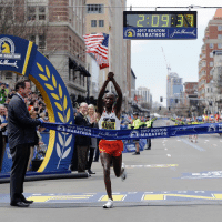 Memes, Boston, and 🤖: IMMARATHON  MARATHON  KIRUI  2017 BOSTON  MARATHON  2017 BOSTON  A 20 Geoffrey Kirui, of Kenya, has won the 121st BostonMarathon. Edna Kiplagat, of Kenya, won the women's division. (Photo Credit: AP)