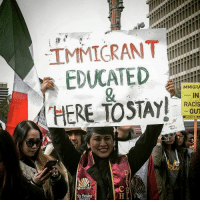 Heck yes!!! HERE TO STAY!!!!!! SiSePuede Repost @sixthchakraa ・・・ That's right! I know a lot of people who are citizens and don't make any effort to do anything with their lives nomas se la pasan de huevones but 🐸☕️ thisislosangeles: IMMIGRANT ilili  EDUCATED  IMMIGRA  IN  RACIS  OUT  ANSWER LA Heck yes!!! HERE TO STAY!!!!!! SiSePuede Repost @sixthchakraa ・・・ That's right! I know a lot of people who are citizens and don't make any effort to do anything with their lives nomas se la pasan de huevones but 🐸☕️ thisislosangeles