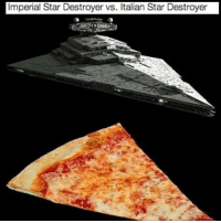 Memes, 🤖, and Imperial: Imperial Star Destroyer vs. Italian Star Destroyer Wow, just found out about Tarkicc, and I thought Reylo was bad...