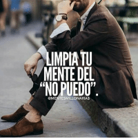 """Family, Food, and God: IMPIA TU  MENTE DEL  """"NO PUEDO""""  @MENTESMILLONARIAS That's right!-@lamentedelmillonario -- --- -- --- -- lamentedelmillonario theceo danielpira manager emprendedor family ligs weightloss enfocus God come let's tranport people work world add share book we colombia mexican american talk food success successfull"""