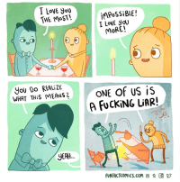 "Fucking, Love, and Mrw: impossi BLE !  I LoVE yoU  THE MoST!  MoRE!  5  YoU DO REALIZE  WHAT THİS MEANS「  ONE OF US İS  A FUCKİNG LiAR!  2  YEAH  FUNFACTCOMiCs.com @ t G y <p><a href=""http://ragecomicsbase.com/post/161361947592/mrw-my-boyfriend-buys-me-ice-cream-after-a-crappy"" class=""tumblr_blog"">rage-comics-base</a>:</p>  <blockquote><p>MRW my boyfriend buys me ice cream after a crappy week</p></blockquote>"