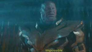"""Reddit, Watch, and Never: Impossible when you watch endgame and realize hawkeye never said """"don't do that"""""""