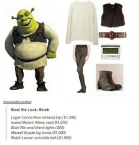 "i still can't believe that sliced bread was invented on 1928?? like we had bread for centuries were people just slapping two whole loaves of bread on top of each other with a single slice of ham in between and going ""boner flunk my cheese 👌👌😩"": impossiblvcastiel:  Steal His Look: Shrek  Lagar Conne Row Ismenia top (S1,390)  Isabel Marant Atkins vest (S4,200)  Basil Rib wool blend tights (S50)  Marsell Suade lug boots (S1,090)  Ralph Lauren crocodile belt (S1,950) i still can't believe that sliced bread was invented on 1928?? like we had bread for centuries were people just slapping two whole loaves of bread on top of each other with a single slice of ham in between and going ""boner flunk my cheese 👌👌😩"""