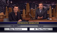 Dank, Movies, and Seth MacFarlane: IMPRESSION GENERATOR  TOPIC  CELEBRITY  Ray Romano  At The Movies Seth MacFarlane impersonates Ray Romano impersonating Yoda. https://goo.gl/5Qbsfj