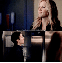 "[4x16] ""Bring It On"" Such a queen 😂💁🏼 — Bex or Damon?: Impressive. You're like Sherlock Holmes with brain damage [4x16] ""Bring It On"" Such a queen 😂💁🏼 — Bex or Damon?"