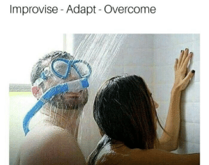 This, Here, and Is This: Improvise- Adapt - Overcome Is this allowed in here? ( ͡° ͜ʖ ͡°)