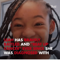 "Memes, News, and Nfl: IMZ  LEAH  BATTLED  CANCER"" EVER SINCE  WAS  HAS  BRAVELY  AND  ""BEAT UP  SHE  DIAGNOSED  WITH Great news as Leah Still is in the clear after doctors feared her cancer returned. devonstill leahstill nfl tmz tmzsports"
