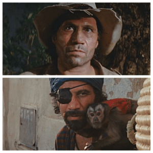 """In """"Indiana Jones: Raiders of the lost Ark""""(1981), the actor who plays the Latino-raider in the opening scene, then the Moroccan-gypsy in a later scene, is the same actor 😄: In """"Indiana Jones: Raiders of the lost Ark""""(1981), the actor who plays the Latino-raider in the opening scene, then the Moroccan-gypsy in a later scene, is the same actor 😄"""