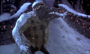"""In """"The Nightmare Before Christmas"""" (1993), the Wolfman's night cap looks just like one belonging to a granny, likely of the Red Hood variety: In """"The Nightmare Before Christmas"""" (1993), the Wolfman's night cap looks just like one belonging to a granny, likely of the Red Hood variety"""