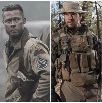 Brad Pitt, Memes, and Death: In a REAL fight to the death handtohandcombat match between Brad Pitt and @markwahlberg , who Wins😏 @militarybadassery -