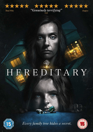 In Ari Asters 'Hereditary' 2018, if you look closely at the bottom of the poster, you can see What looks like another miniature, secretly spoiling the end of the film before they even walk in.: In Ari Asters 'Hereditary' 2018, if you look closely at the bottom of the poster, you can see What looks like another miniature, secretly spoiling the end of the film before they even walk in.