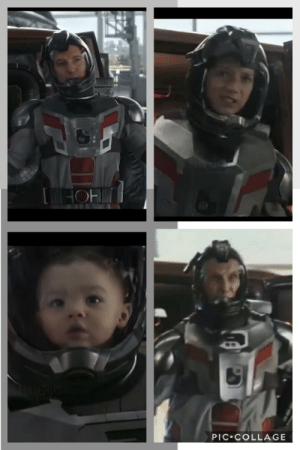 In Avengers: Endgame (2019), Scott Lang (Paul Rudd) goes back in time and comes back as a teenager, baby, and old man. This is inaccurate because Paul Rudd doesn't age.: In Avengers: Endgame (2019), Scott Lang (Paul Rudd) goes back in time and comes back as a teenager, baby, and old man. This is inaccurate because Paul Rudd doesn't age.